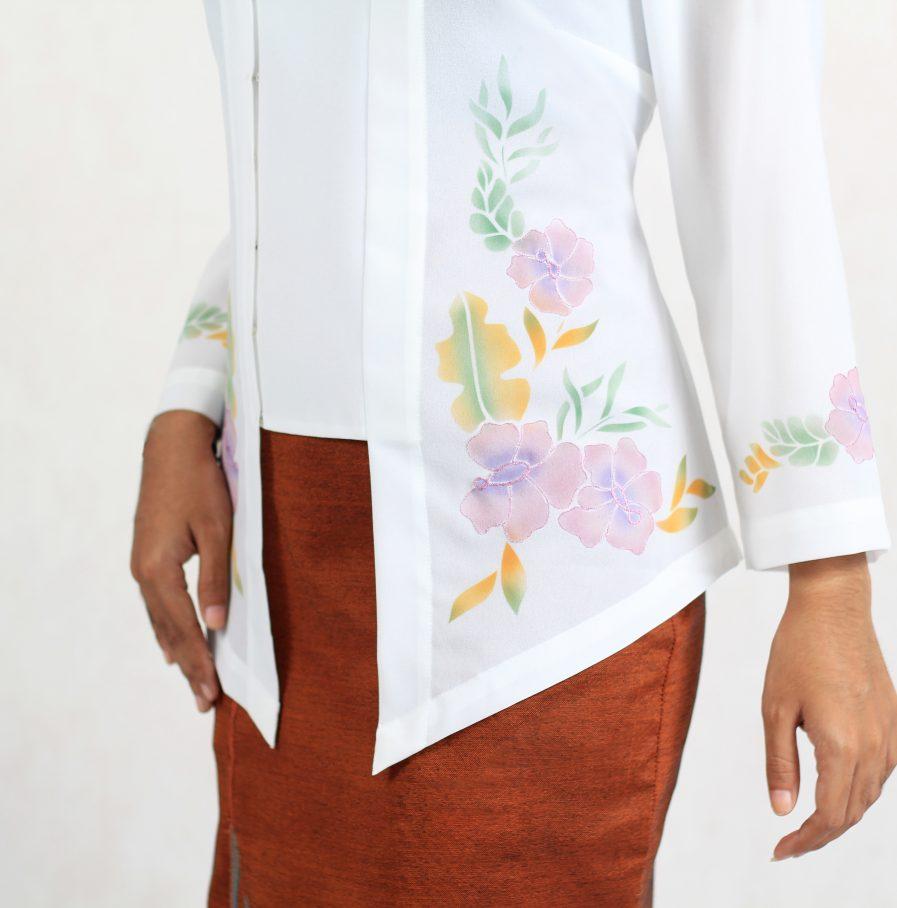 Alaina Kebaya off white (1)