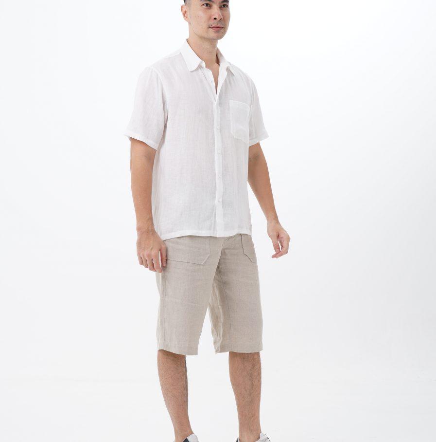kemeja gema normal fit white (5)