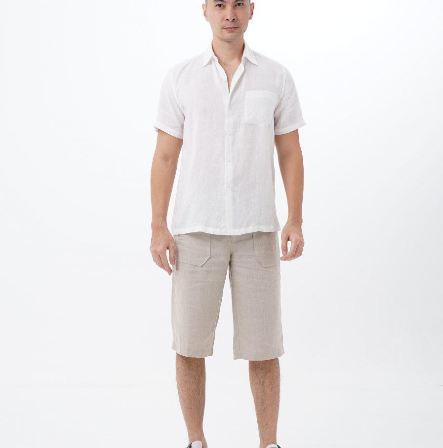 kemeja gema resort fit white (1)